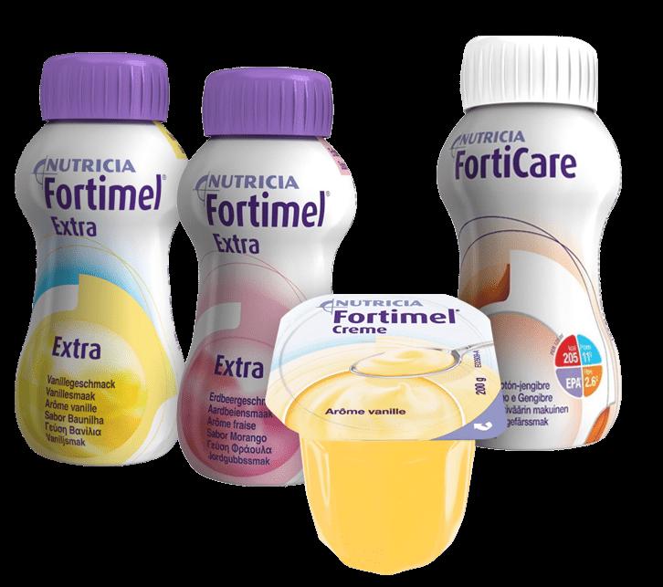 Προϊόντα Fortimel και FortiCare για ογκολογικούς ασθενείς- Nutricia Professionals