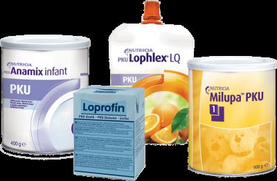 Προϊόντα για τη διατροφική αγωγή ατόμων με ενδογενή νοσήματα του μεταβολισμού - Nutricia Professionals